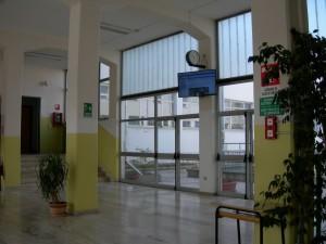 atrio di ingresso Righi Cesena